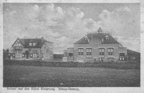 Sloterweg W 1399 Chr School 1933