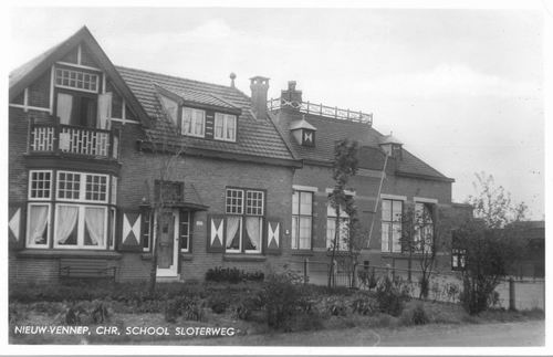 Sloterweg W 1399 Chr School 1950