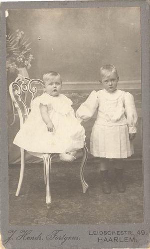 Sluijs_Jan_van_der_1878_191__2_Kinderen_Portret