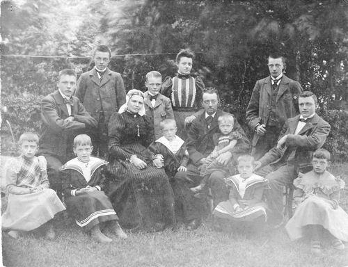 Sluijs Simon van der 1854 1901 Gezinsfoto