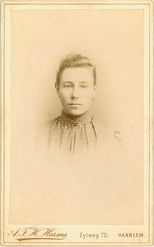 Smit Maria 1885 19__ Portret