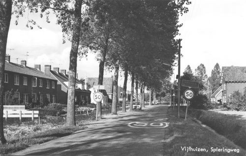 Spieringweg W 058_ 1974 vanaf Zuiden
