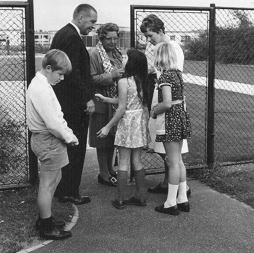 Spieringweg W 0801 1970 Opening met Koningin Juliana 02