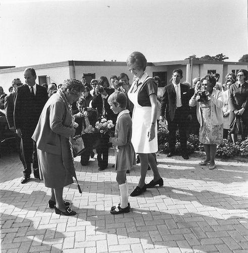 Spieringweg W 0801 1970 Opening met Koningin Juliana 03