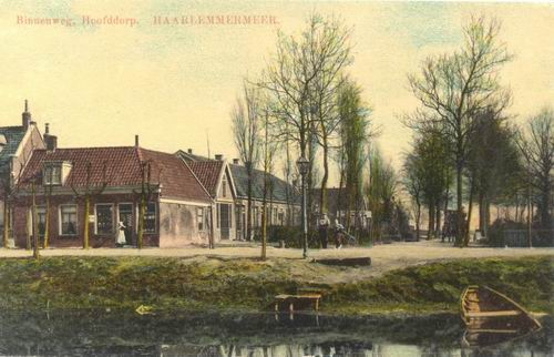 Stationsweg 0001 1910 Binnenweg Ingekleurd