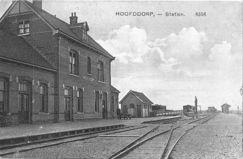 Stationsweg Station 1915
