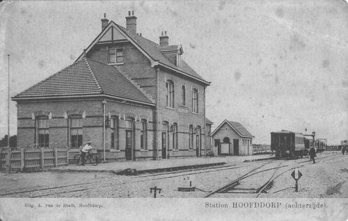 Stationsweg Station 1917 Zuidzijde