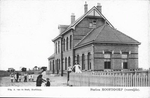 Stationsweg Station 1919 Zuidzijde