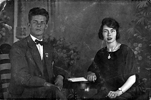 Stokman Harry 1901 19__ met Alie Ruhe_exposure