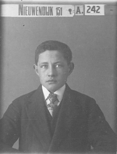 Stokman Nico 1897 19__ Portret uit Familiealbum