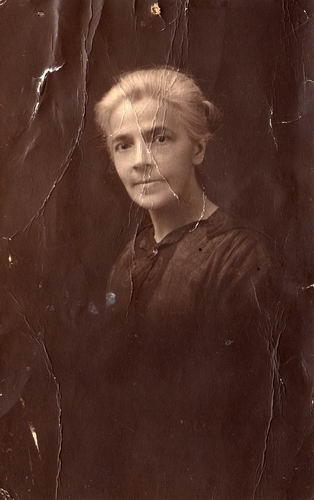 Treur-Kraaij Grietje 1870 19__ Portret