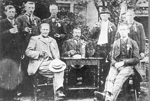 Treur Willem 1866 19__ Voorzitter Oranjevereniging Burgerveen