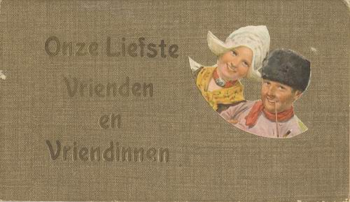 <b>ZOEKPLAATJE:</b>Vaandering Mathilda Onbekend Vrienden Pasfotoalbum 01