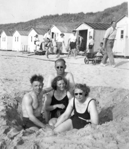 Vellekoop Arie 1902 1950 Vakantie Texel de Koog 03