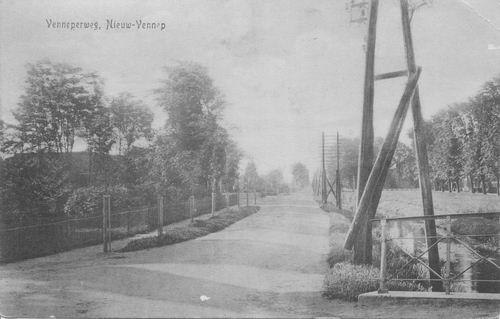 Venneperweg N 0471 1918 Zicht vanaf Hoofdweg