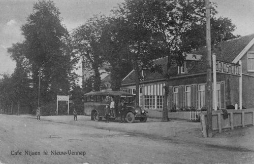 Venneperweg N 0471 1934 Cafe Nijsen