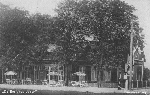 Venneperweg N 0471 1939 Cafe Nijssen