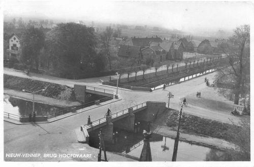 Venneperweg N 0475 Brug 1942 vanaf NH Kerk