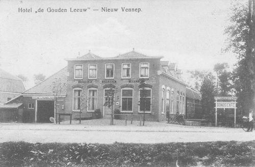 Venneperweg N 0479 1911 Hotel de Gouden Leeuw_2