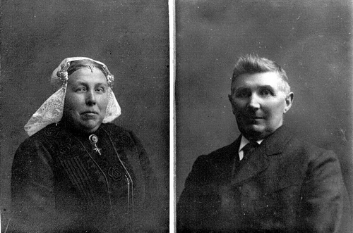 Verdegaal Gerardus 19__ Portret met vrouw Laurentia Anna Stoop_2