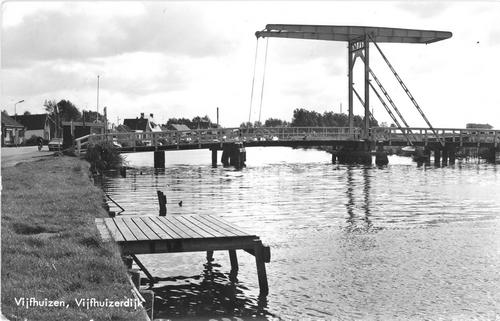 Vijfhuizerdijk 004_ 1978 met Ophaalbrug