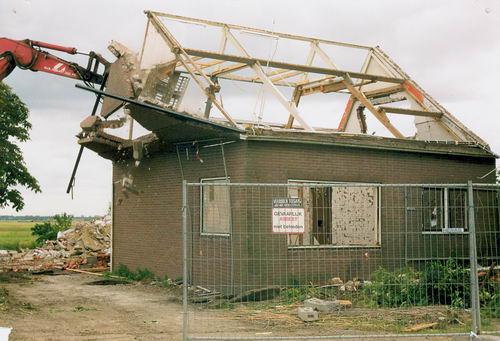 Vijfhuizerweg N 0531 2000 Sloop Huize Fred vd Groef 10