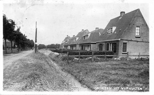 Vijfhuizerweg N 0889-907 1932 Rode Dorp