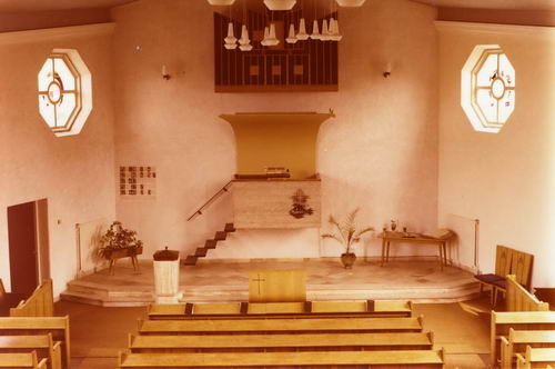 Vijfhuizerweg N 0969 1978 NH Kerk Interieur