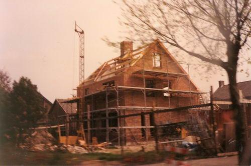 Vijfhuizerweg N 0981 1980 Nieuwe Pastorie bouw