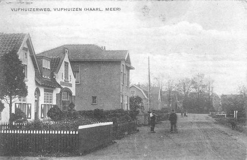 Vijfhuizerweg Z 0506 1923 Smederij Mantel ev