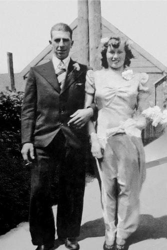 Volger Cor 1913 1939 trouwt Kitty Prikkel