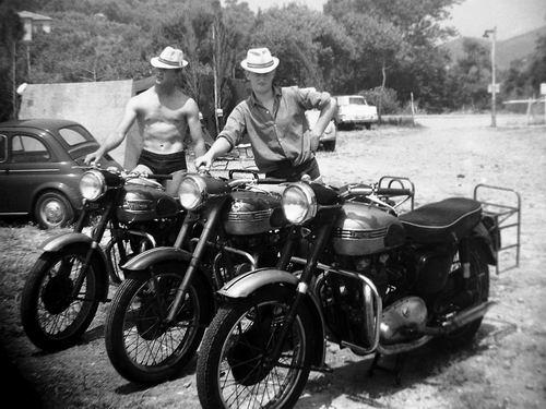 Volger Jan 1939 1961 Motor Vakantie met Bertus v Someren en Piet de Jong