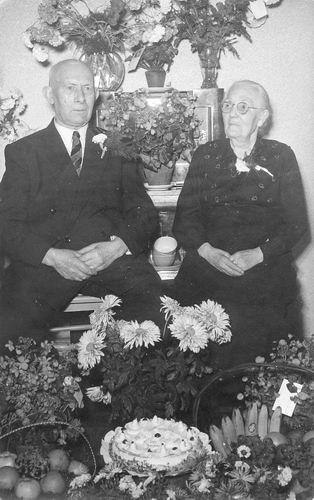 Wakker Bastiaan 1952 50jr getrouwd met Johanna P Legierse