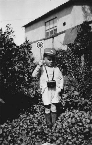 Wieringen Jan v 1933 1938 Kleuter als Conducteur