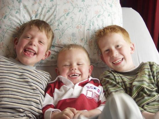 Fortweg 00005 Casper Wies 200404 met neefies Nicky en Maarten 02