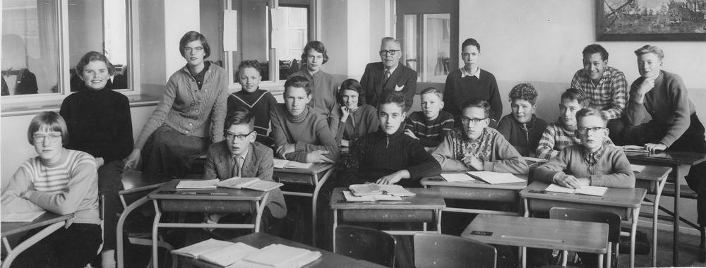 Willem de Zwijger MAVO Hoofddorp 1957-58 Klas 3b