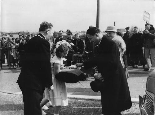Willigen Burgemeester vd 1956 Inhuldiging Burgemeester 02