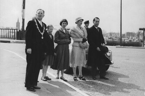 Willigen Burgemeester vd 1956 Inhuldiging Burgemeester 03