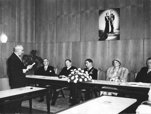 Willigen Burgemeester vd 1956 Inhuldiging Burgemeester 04