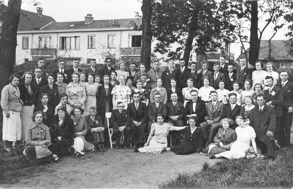 <b>ZOEKPLAATJE:</b>Onbekend Zangkoor 1935 met Hendrika Elshout 02