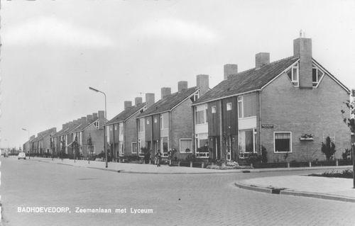 Zeemanlaan 1964 met Lyceum