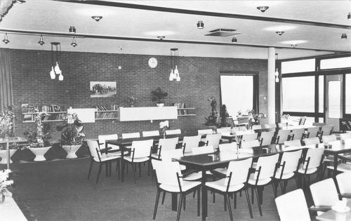 Zuiderdreef 1970 Westerkim Bejaardenhuis Recreatiezaal