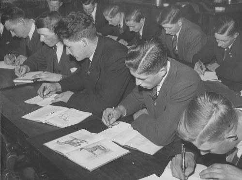 Zuijdam D W 1941-42 Cursus Paardenkennis 02