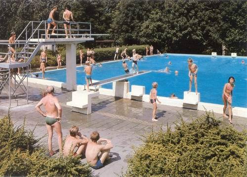 Zwanenburg Zwembad 1981