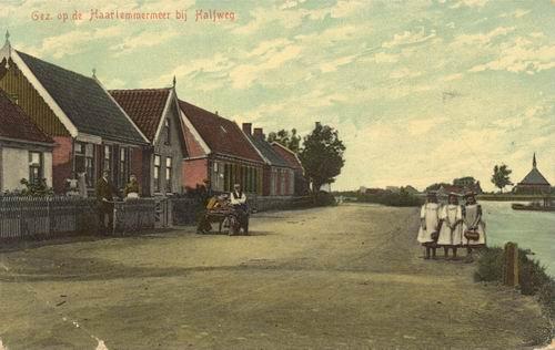 Zwanenburgerdijk 042_ 1916 Ingekleurd