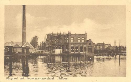 Zwanenburgerdijk 044_ 1930 Draaibrug met Halfweg