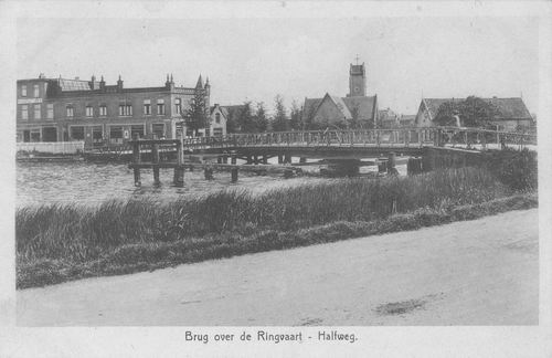 Zwanenburgerdijk 044_ 1938 Draaibrug met Halfweg