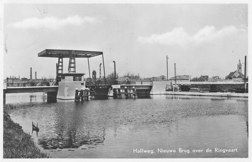 Zwanenburgerdijk 047_ 1954 Ophaalbrug