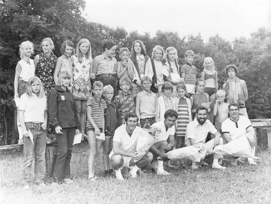 Zwembad Afzwemgroep 01 Zat 27 Juni 1970