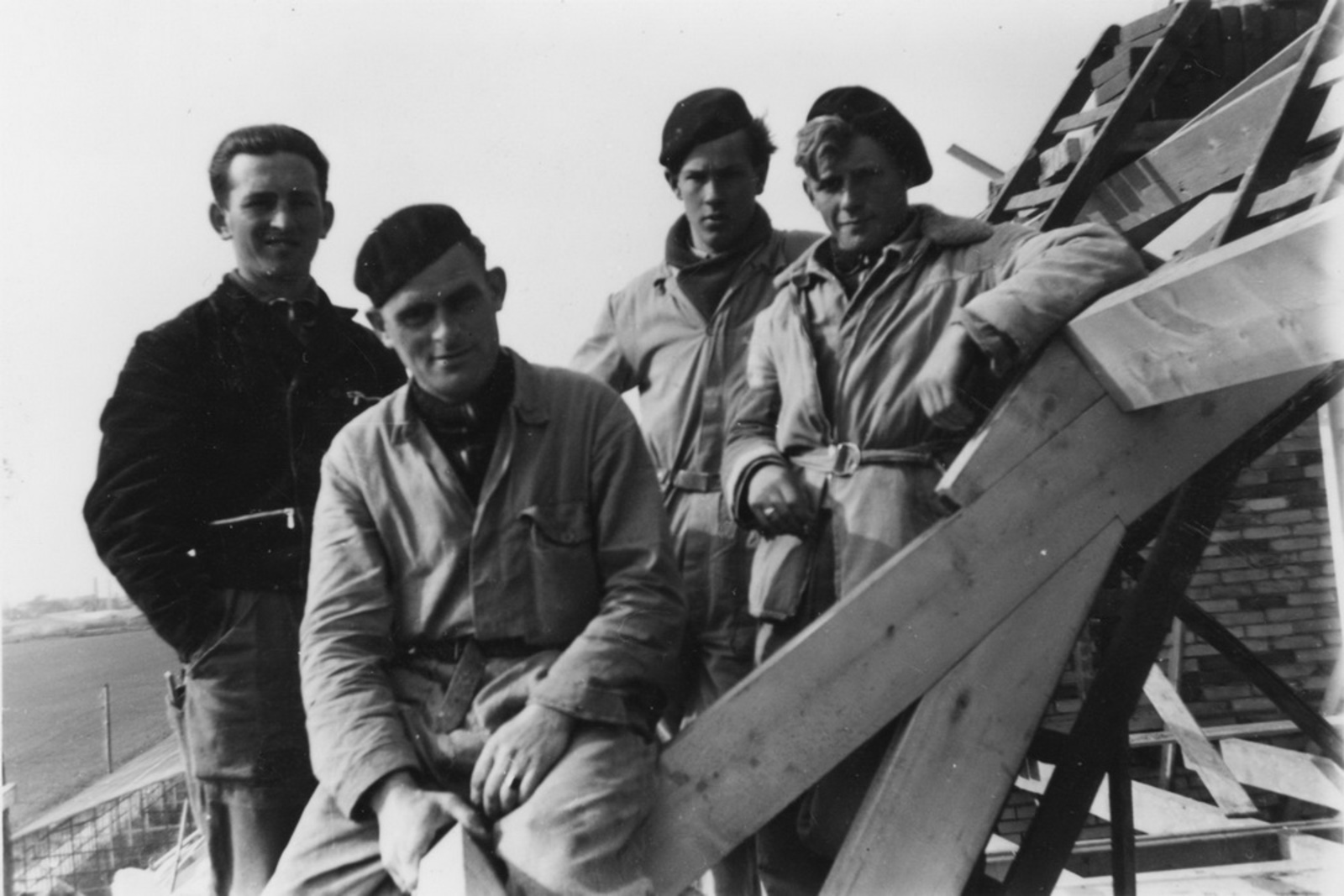 Aalsmeer Hornweg 51 1954-55 bouw Tuinderswoning J Noordam 03